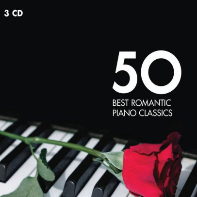 50 BEST ROMANTIC PIANO CLASSICS (3 CD)