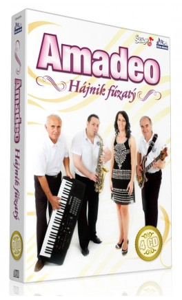 AMADEO - Hájnik fúzatý (4cd)