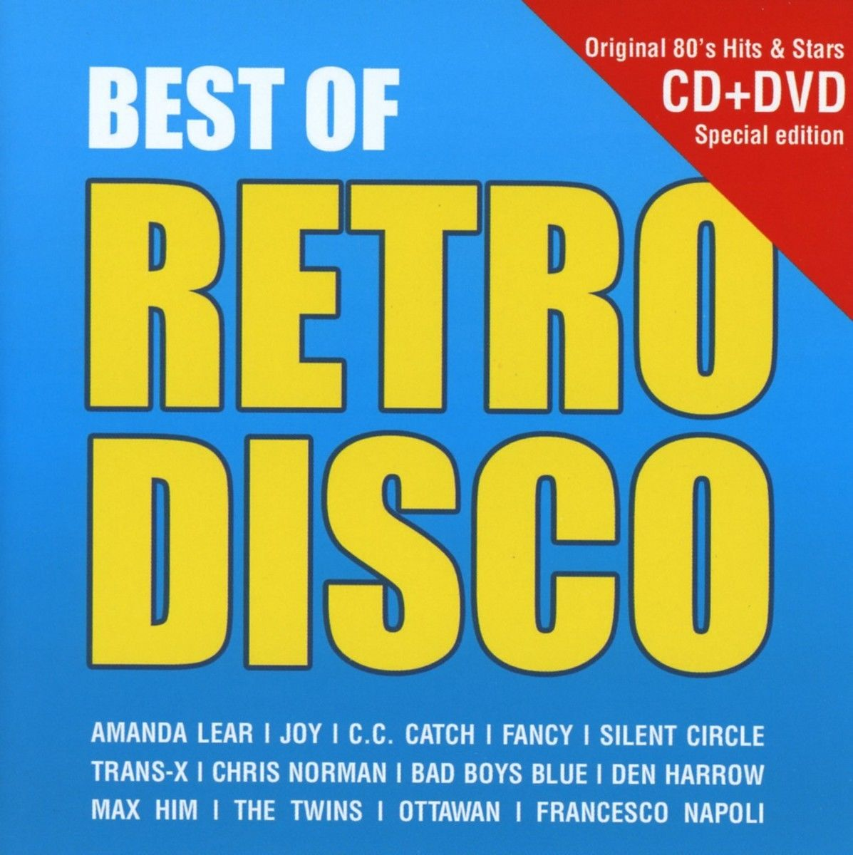 BEST OF RETRO DISCO CD + DVD