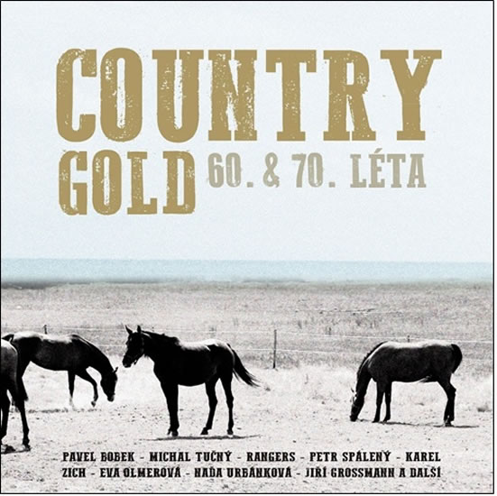 Country Gold 60. & 70. léta - 2 CD