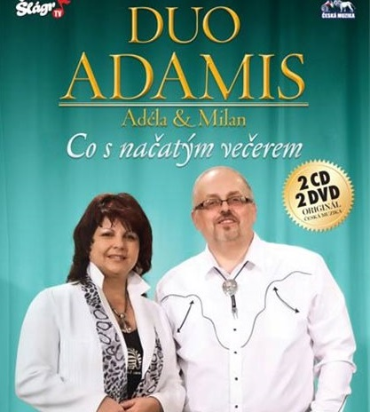 DUO ADAMIS - Co s načatým večerem 2 CD + 2 DVD