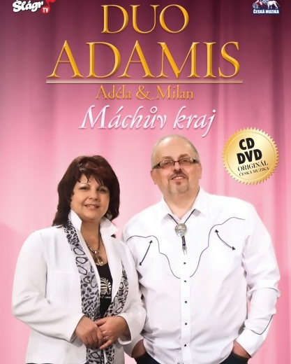 Duo Adamis - Máchův kraj 1 CD + 1 DVD