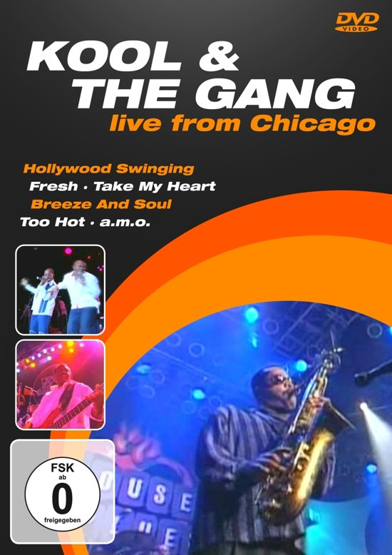 DVD KOOL & THE GANG LIVE FROM CHICAGO