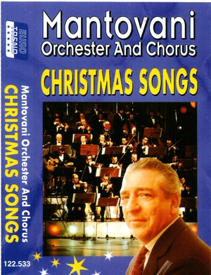 Mantovani orchester - Christmas songs KAZETA