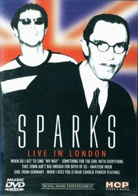 DVD Sparks - Live In London