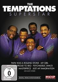 DVD The Temptations - Superstar